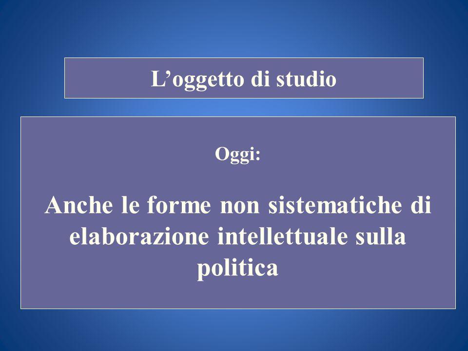 i STORIA DELLE DOTTRINE POLITICHE Docente Prof. Scuccimarra Lezione n. 6 I SEMESTRE A.A. 2011-2012