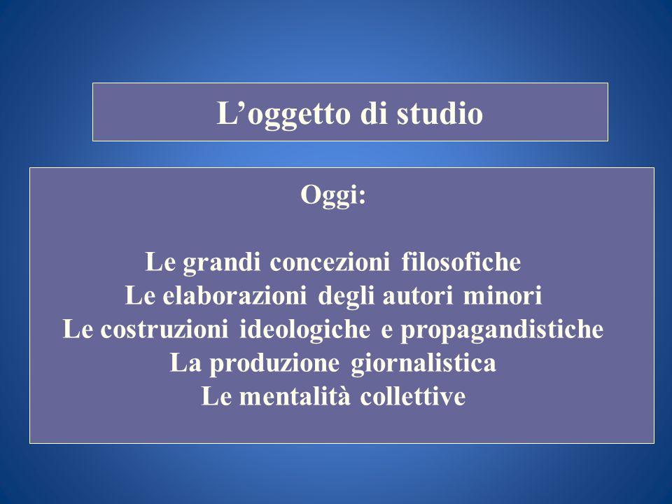 i STORIA DELLE DOTTRINE POLITICHE Docente Prof. Scuccimarra Lezione n. 3 I SEMESTRE A.A. 2011-2012