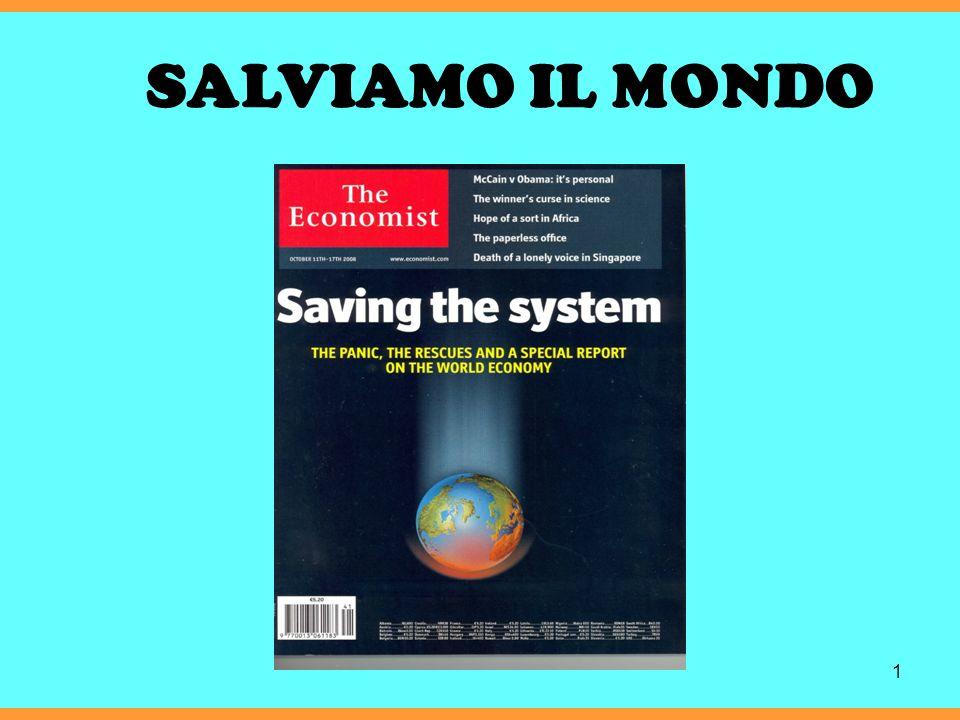 1 SALVIAMO IL MONDO