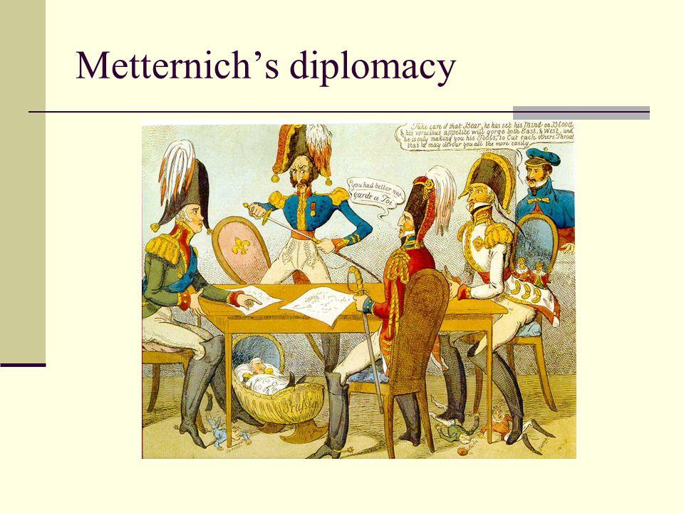 Metternichs diplomacy