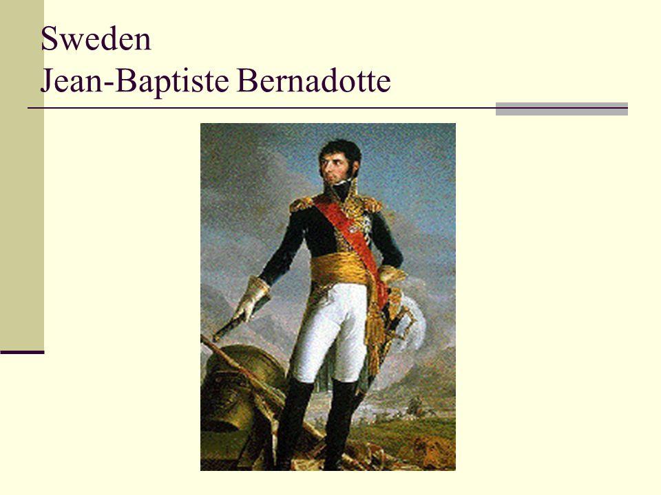 Sweden Jean-Baptiste Bernadotte