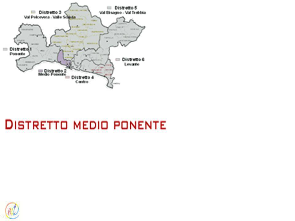 I distretti sanitariI distretti sanitari / Distretto Medio Ponente (Distretto socio sanitario n. 9)