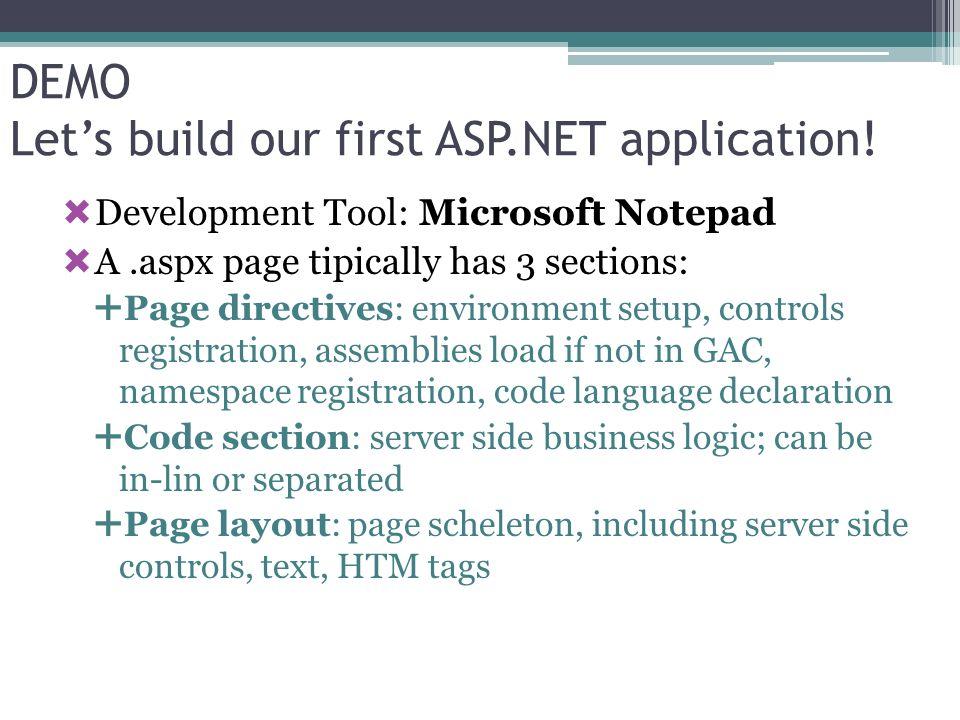 Server Side Client Side Microsoft AJAX Library ASP.NET 2.0 AJAX Extensions ASP.NET 2.0 AJAX Futures CTPs ASP.NET AJAX Toolkit Sviluppato con la community Nuove funzionalità Microsoft AJAX: i componenti base Supporto Microsoft standard per le ASP.NET 2.0 AJAX Extension Supporto della comunity per le Futures CTPs ed il Toolkit.