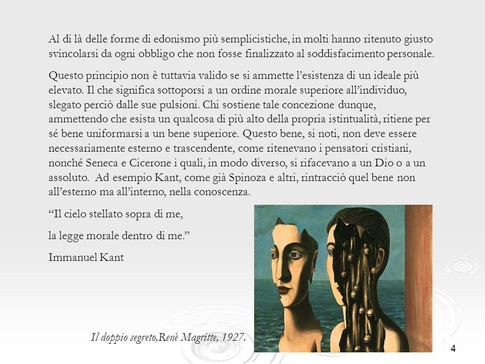 5 Hegel, escludendo qualsiasi relativismo etico, sostiene che la morale deve essere oggettiva e non soggettiva.