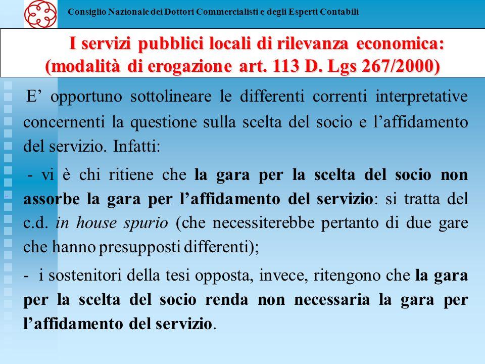 Consiglio Nazionale dei Dottori Commercialisti e degli Esperti Contabili Modalità del tutto singolare, invece, quella prevista dalla lettera c) del comma 5 dellart.