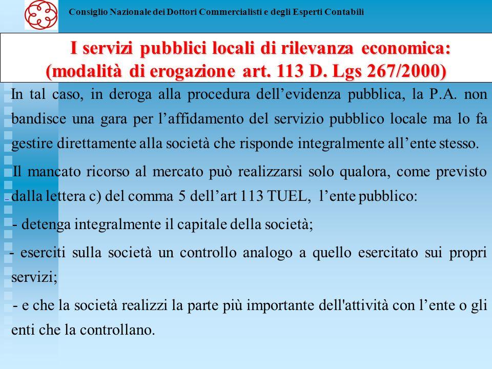 Consiglio Nazionale dei Dottori Commercialisti e degli Esperti Contabili Ai sensi del comma 1 dellart.
