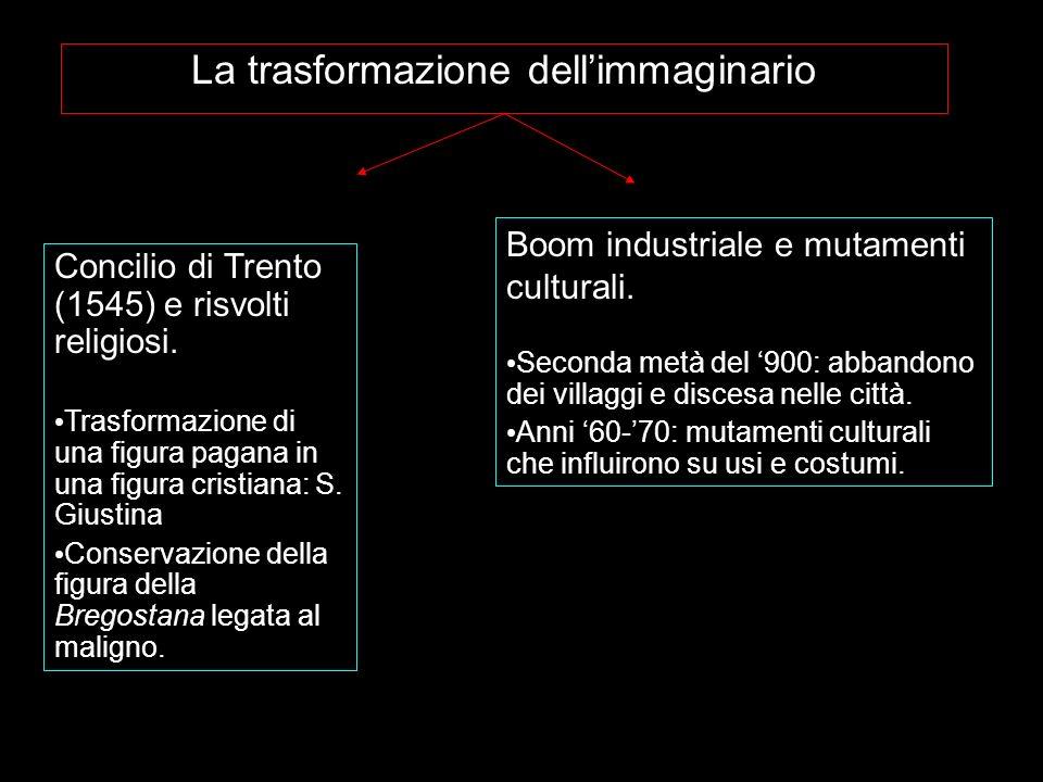 La trasformazione dellimmaginario Concilio di Trento (1545) e risvolti religiosi. Trasformazione di una figura pagana in una figura cristiana: S. Gius