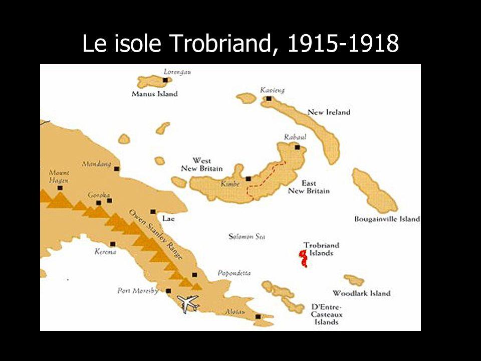 Le isole Trobriand, 1915-1918