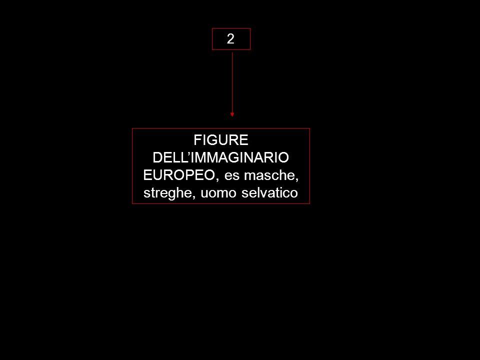 FIGURE DELLIMMAGINARIO EUROPEO, es masche, streghe, uomo selvatico 2