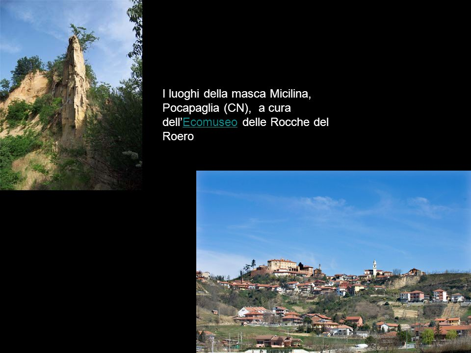 I luoghi della masca Micilina, Pocapaglia (CN), a cura dellEcomuseo delle Rocche del RoeroEcomuseo