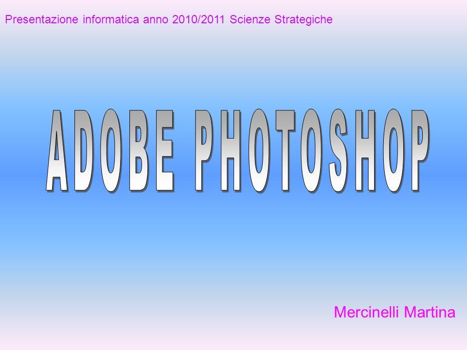 Mercinelli Martina Presentazione informatica anno 2010/2011 Scienze Strategiche