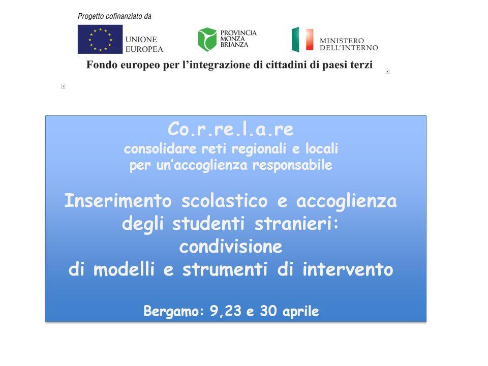 Marilena Vimercati - ISMU - Milano Co.r.re.l.a.re Accordo di integrazione tra lo straniero e lo Stato tra lo straniero e lo Stato DPR 14 settembre 2011, n.