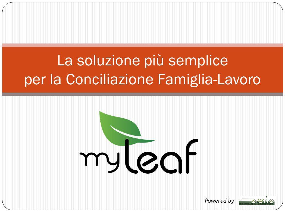 La soluzione più semplice per la Conciliazione Famiglia-Lavoro Powered by
