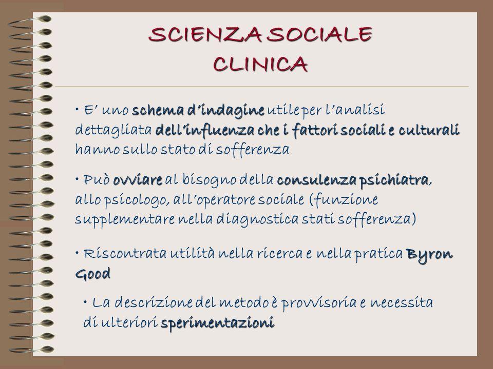ovviareconsulenza psichiatra Può ovviare al bisogno della consulenza psichiatra, allo psicologo, alloperatore sociale (funzione supplementare nella di