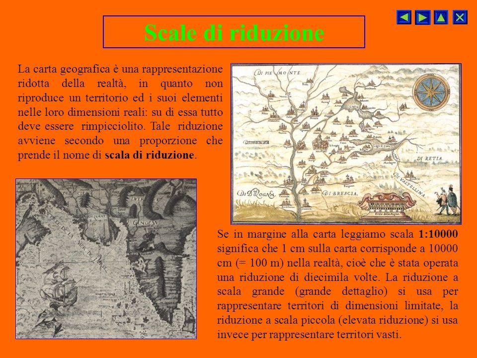 Altro strumento fondamentale è la carta geografica, ossia una rappresentazione geografica della Terra o di una sua parte. Fin dai tempi più remoti luo