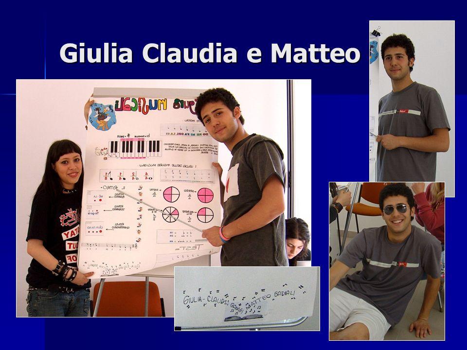 Giulia Claudia e Matteo