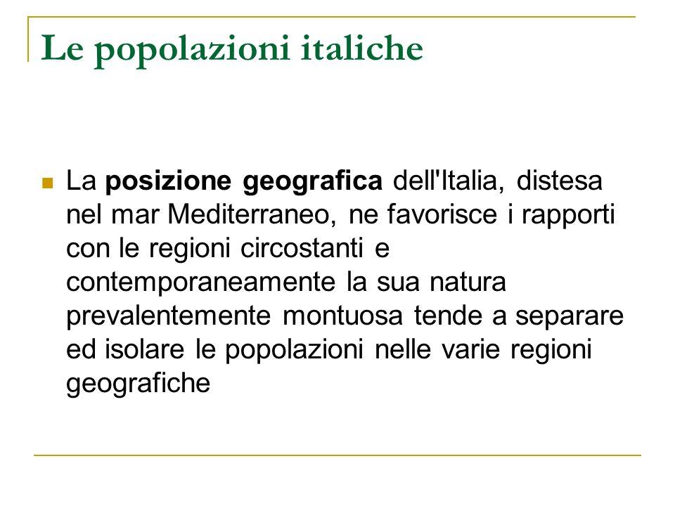 La fondazione di Roma VIII sec: i villaggi si uniscono in alleanza Unico nome: Roma (origine greca.