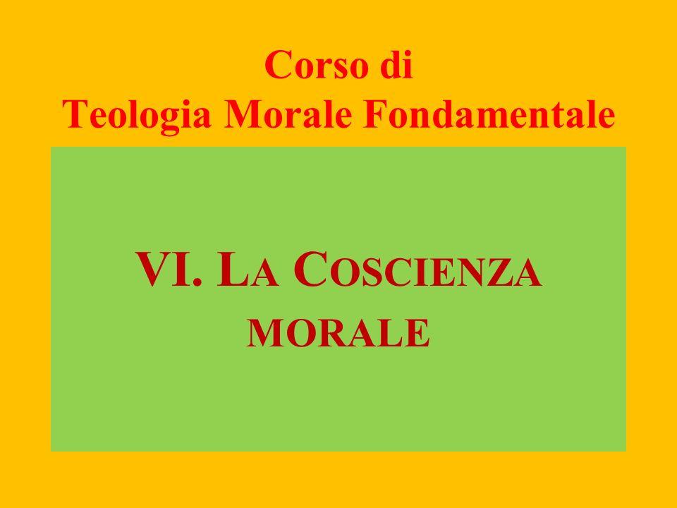 COSCIENZA MORALE, 1 (CCC 1796)La coscienza morale è un giudizio della ragione, con il quale la persona umana riconosce la qualità morale di un atto concreto.