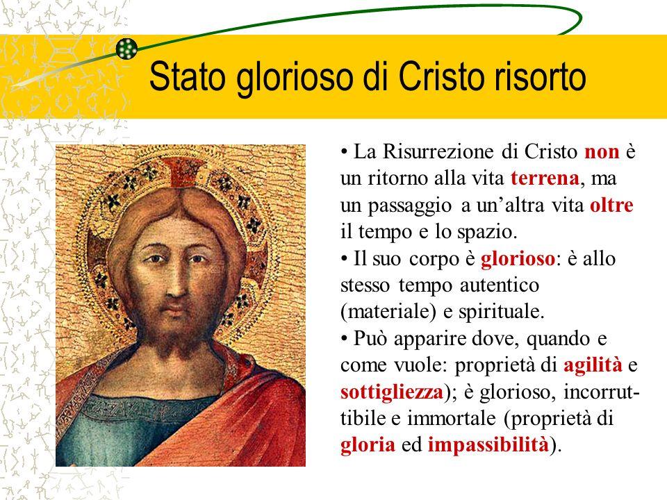 2 Cor 13, 4 La Risurrezione è unopera dellonnipotenza divina comune alle tre Persone divine della Santissima Trinità (2 Cor 13, 4). Infatti, secondo l