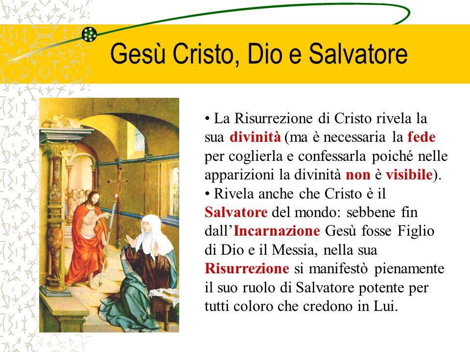 CCE 638 La Risurrezione di Gesù è la verità culminante della nostra fede in Cristo, creduta e vissuta come verità centrale dalla prima comunità cristi
