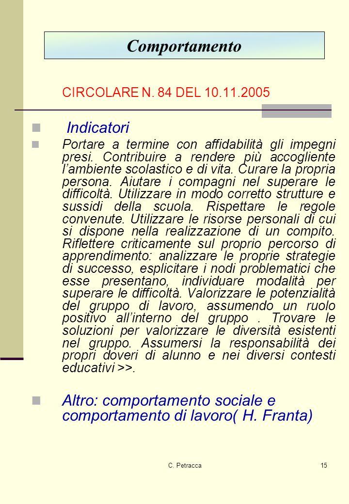 C.Petracca15 CIRCOLARE N.
