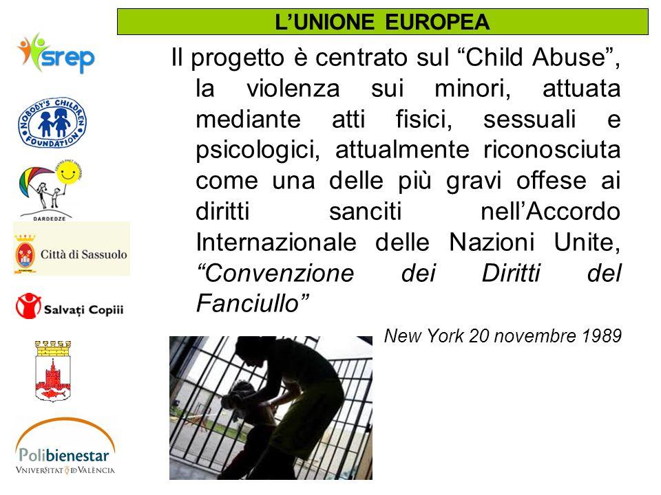 Il progetto è centrato sul Child Abuse, la violenza sui minori, attuata mediante atti fisici, sessuali e psicologici, attualmente riconosciuta come un