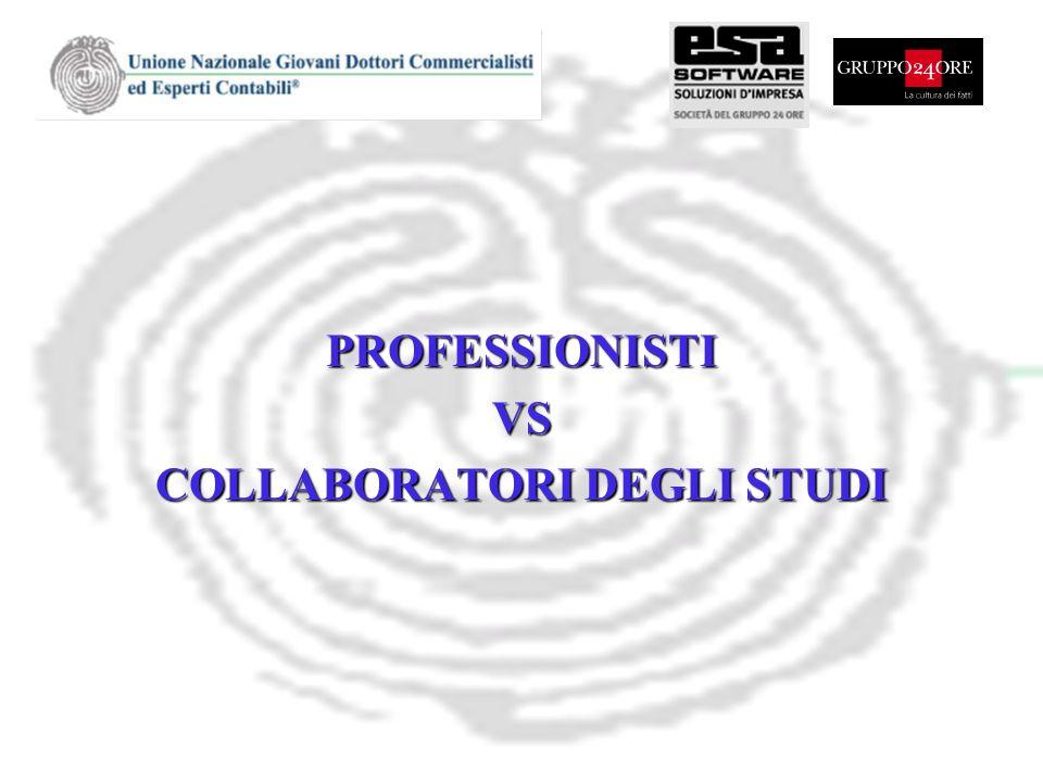 PROFESSIONISTIVS COLLABORATORI DEGLI STUDI