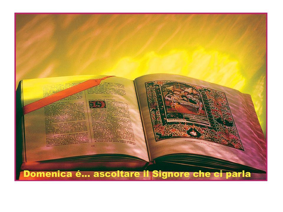 Signore Gesù, fa che siamo fedeli alla nuova ALLEANZA, che, sconfiggendo il male, hai stretto tra cielo e terra