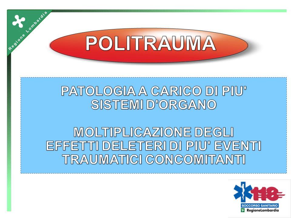 ANNOMORTI (entro il 7°giorno) FERITI 19997.829128.830 20007.583149.500 Trauma: dati Italia Ministero delle infrastutture e dei trasporti - Progetto DAT.I.S.
