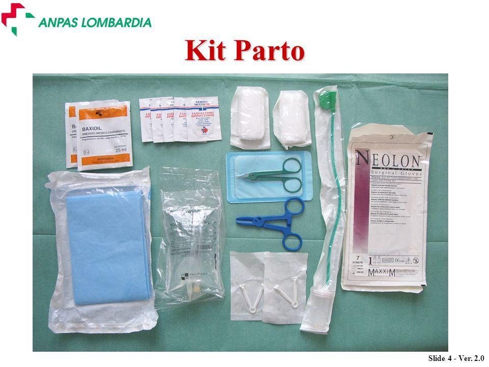 Slide 15 - Ver. 2.0 La scheda paziente