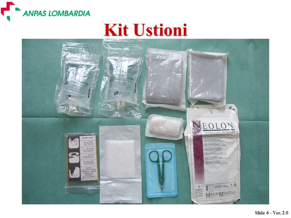 Slide 6 - Ver. 2.0 Kit Ustioni