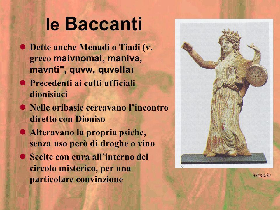 Feste ufficiali (2) Le Grandi Dionisie o Dionisiache Istituite da Clistene di Sicione Ad Atene, in Attica, in Asia Minore Dal 535 a.C. agoni drammatic