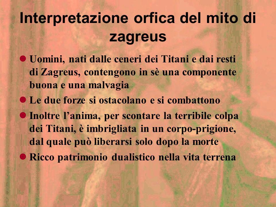 Orfismo introduzione Fu principalmente una letteratura Fiorì nel VI sec. A.C., ad Atene, per opera di Onomacrito Orfeo venne ritenuto il primo fondato