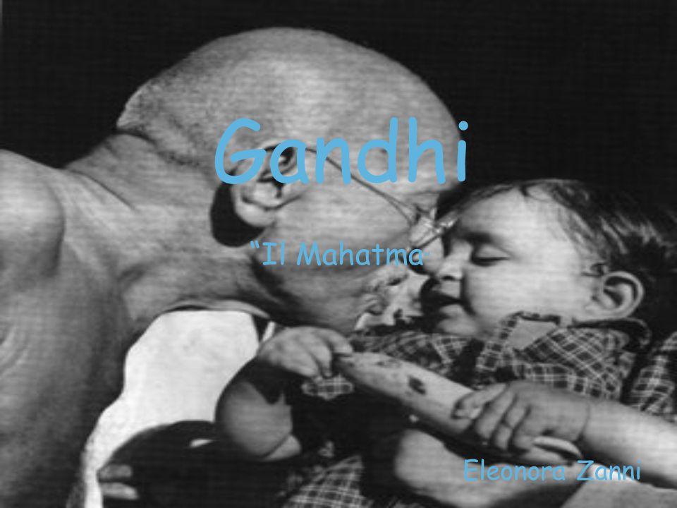Gandhi è stato un politico indiano.E nato il 2 ottobre 1869.