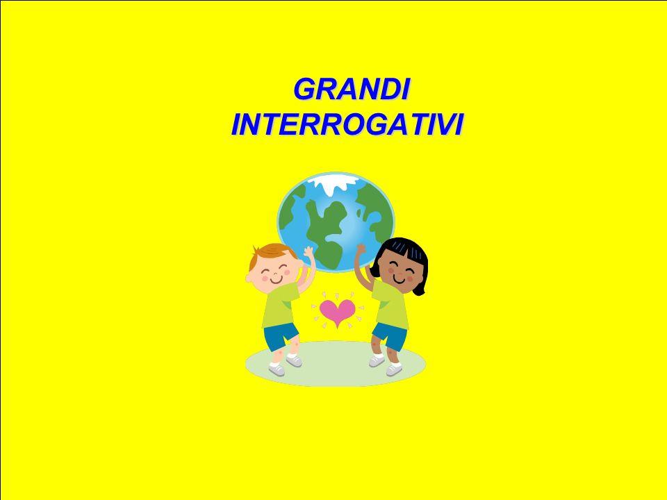 GRANDI INTERROGATIVI GRANDI INTERROGATIVI