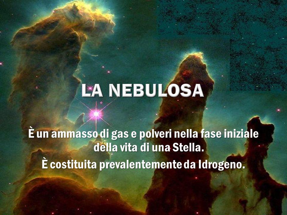 È un ammasso di gas e polveri nella fase iniziale della vita di una Stella. È costituita prevalentemente da Idrogeno.