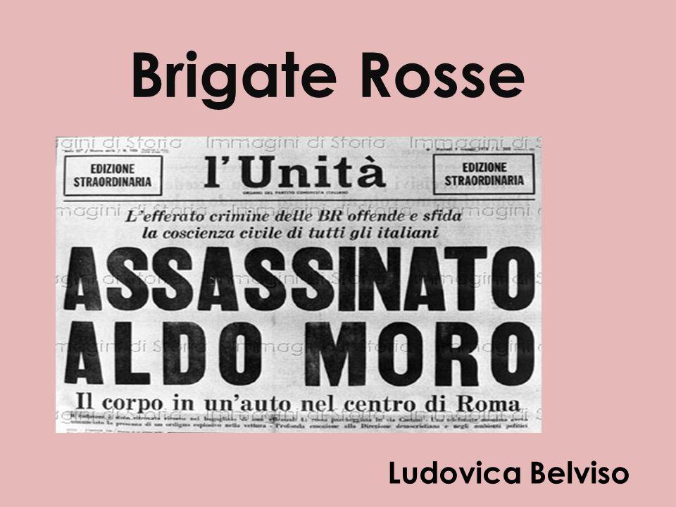 Brigate Rosse Ludovica Belviso