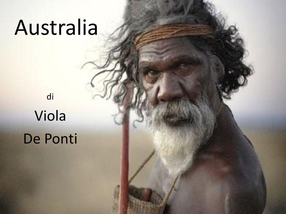 Australia È lisola più grande del mondo supera di circa 30 volte le dimensioni dellInghilterra.