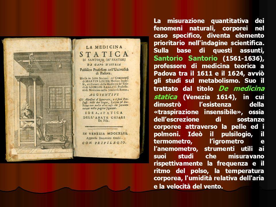 Giovanni Alfonso Borelli (1608-1679) Il suo De motu animalium uscito postumo a Roma nel 1680 è un tentativo di estendere alla biologia il rigoroso metodo analitico e geometrico sviluppato da Galileo nel campo della meccanica.