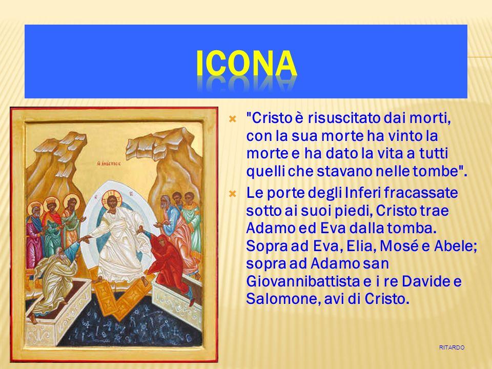 Dopo quaranta giorni da quando si era mostrato agli Apostoli, Cristo sale al cielo e siede alla destra del Padre.