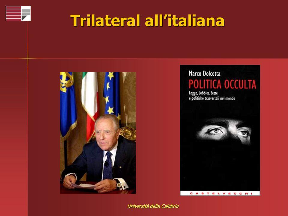 Università della Calabria Trilateral allitaliana