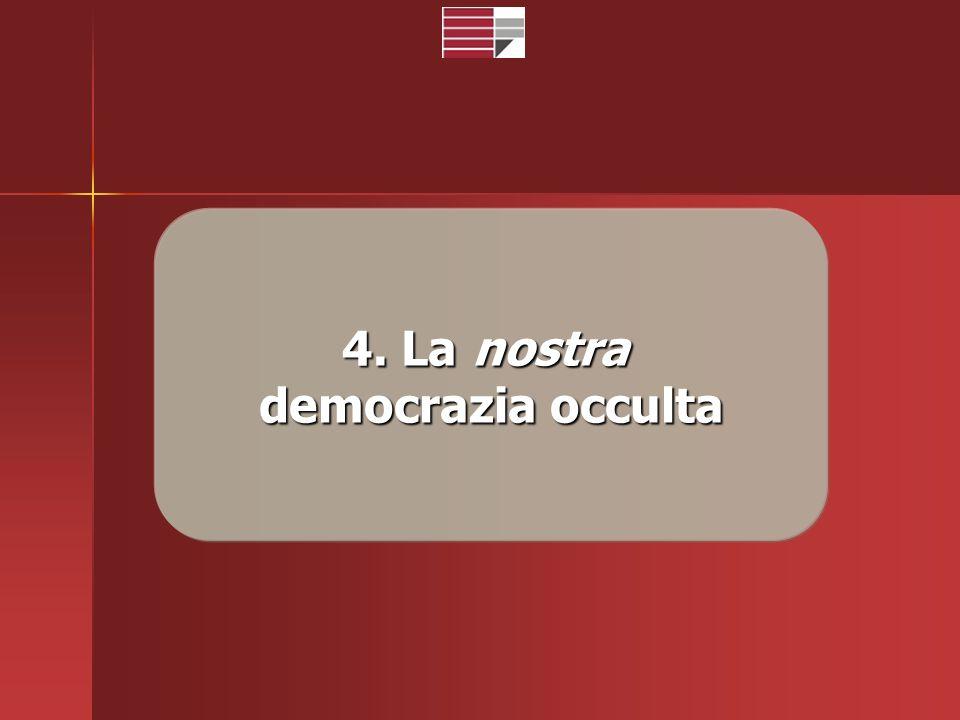 4. La nostra democrazia occulta