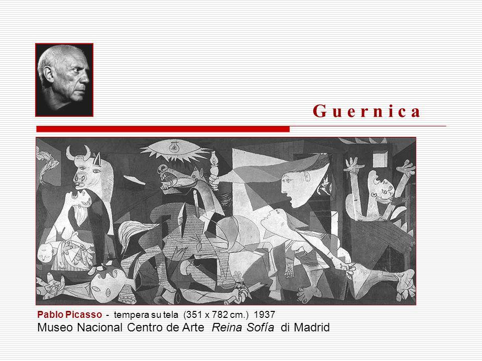 Nel pomeriggio del 26 aprile 1937, numerose incursioni aeree tedesche e italiane rasero al suolo la città di Guernica.