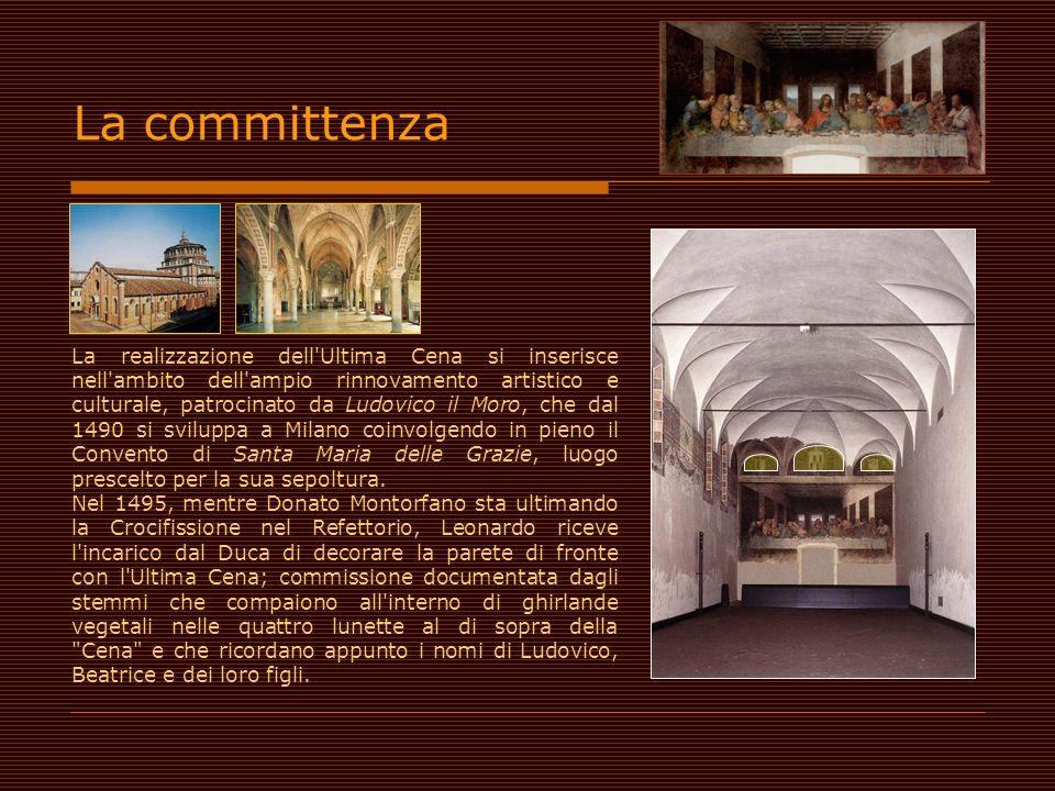 La realizzazione dell'Ultima Cena si inserisce nell'ambito dell'ampio rinnovamento artistico e culturale, patrocinato da Ludovico il Moro, che dal 149
