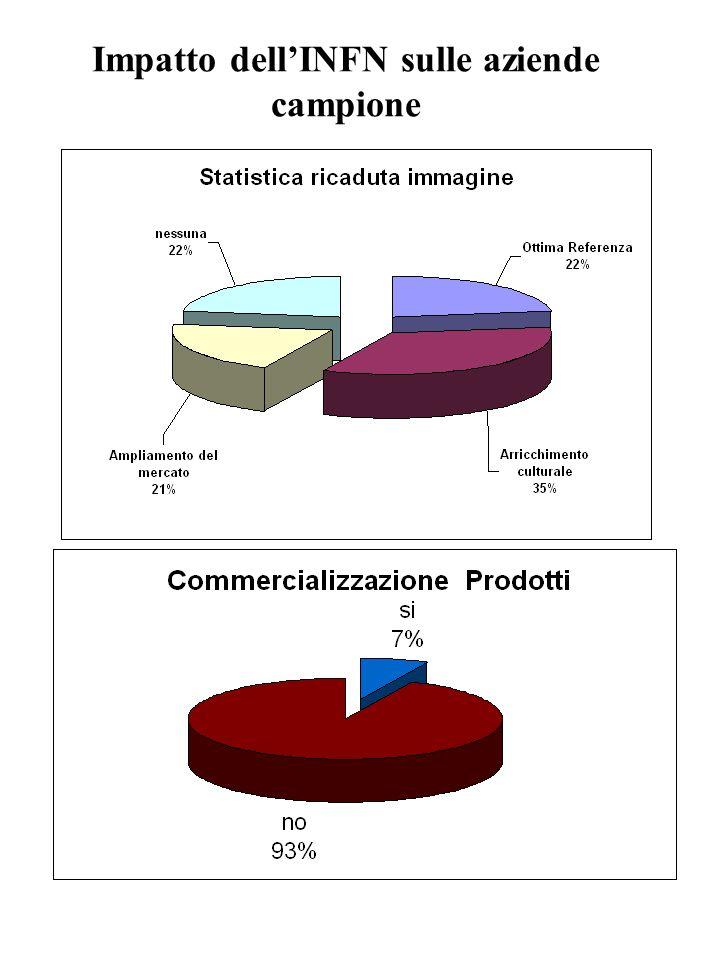 Impatto dellINFN sulle aziende campione