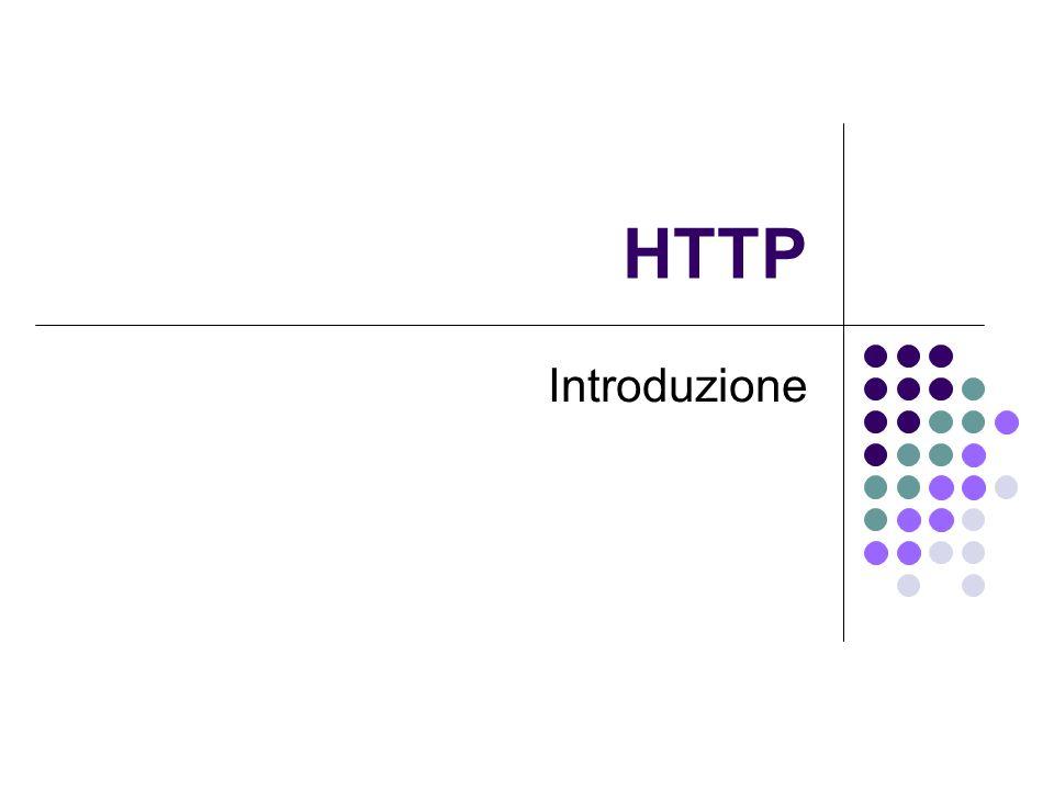 HTTP Introduzione