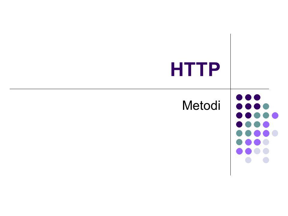 HTTP Metodi