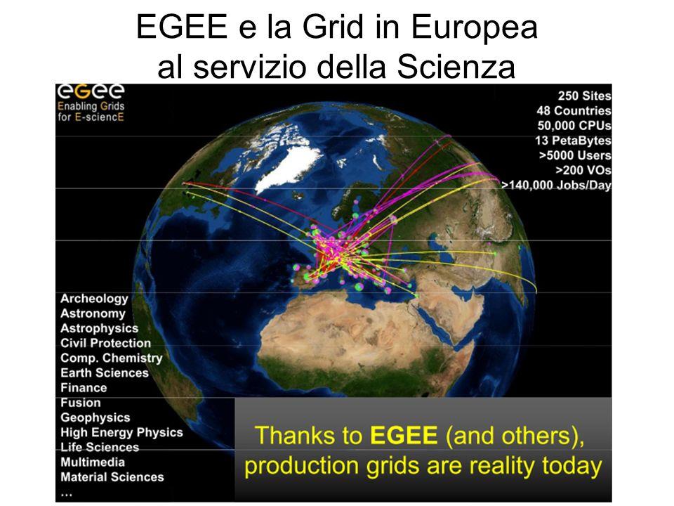 EGEE e la Grid in Europea al servizio della Scienza