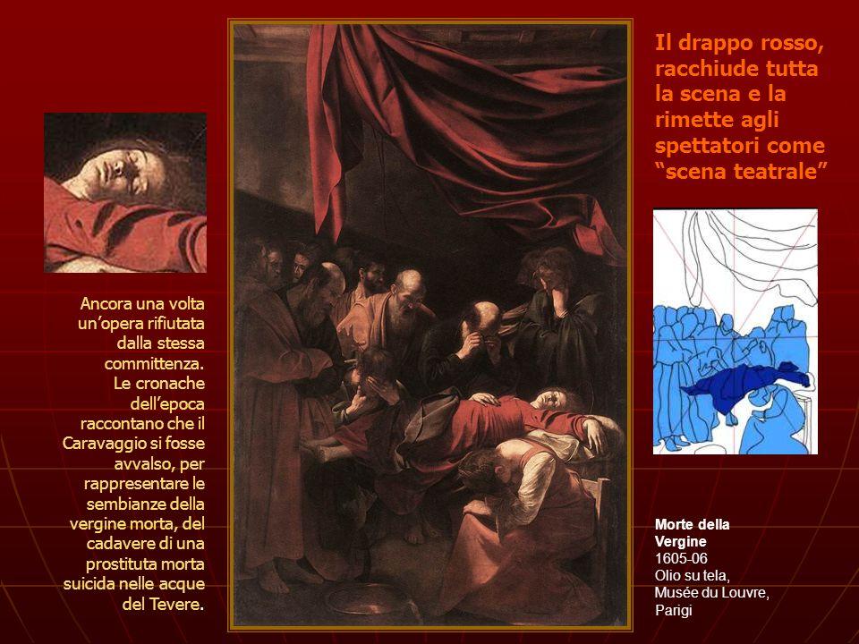 Morte della Vergine 1605-06 Olio su tela, Musée du Louvre, Parigi Ancora una volta unopera rifiutata dalla stessa committenza. Le cronache dellepoca r