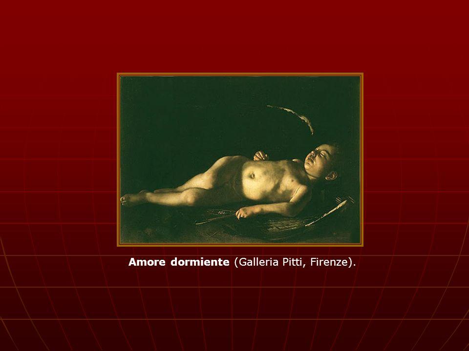 Amore dormiente (Galleria Pitti, Firenze).